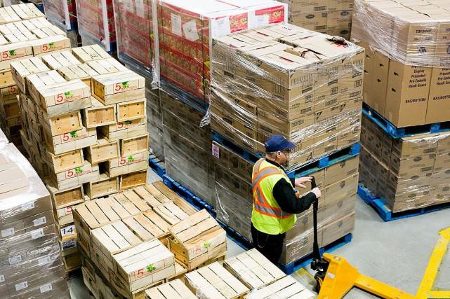 Moisson Montréal est la plus grosse banque alimentaire... (Photo MARTIN TREMBLAY, La Presse)