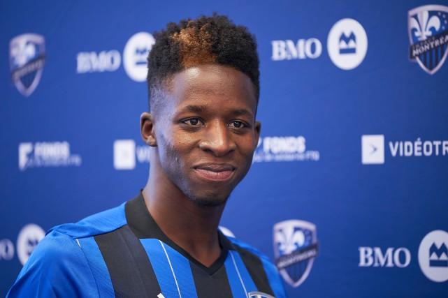 Le défenseur Zakaria Diallo a compté l'un des... (Photo André Pichette, archives LA PRESSE)