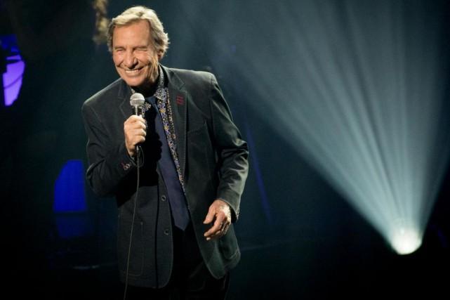 Jean-Pierre Ferland était en spectacle, hier, à la... (Photo Olivier Jean, La Presse)