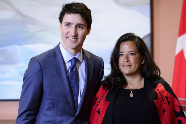 Pression sur l'ex-ministre de la Justice pour SNC-Lavalin: Justin Trudeau nie