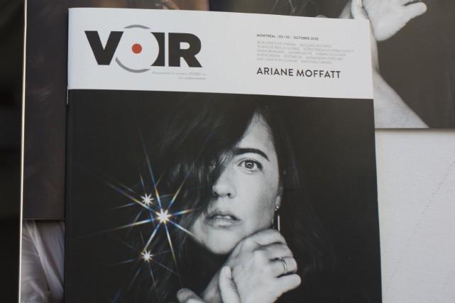 Le magazine culturel Voir n'aura plus d'édition papier. (Photo Olivier PontBriand, archives La Presse)