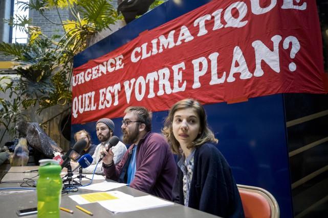 Le mouvement La Planète s'invite à l'Université de... (Photo Marco Campanozzi, La Presse)