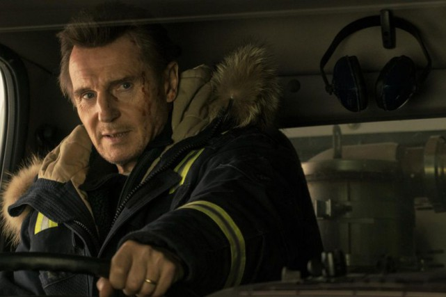 Liam Neeson dans Cold Pursuit, un film de... (Photo fournie par Entract Films)