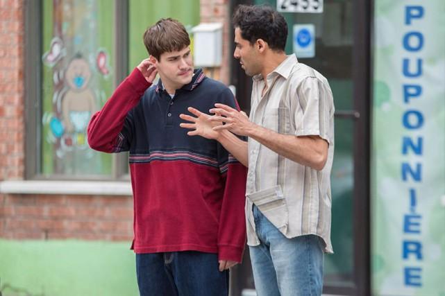 Julien Lacroix et Adib Alkhalidey dans Mon ami... (Photo fournie par la production)