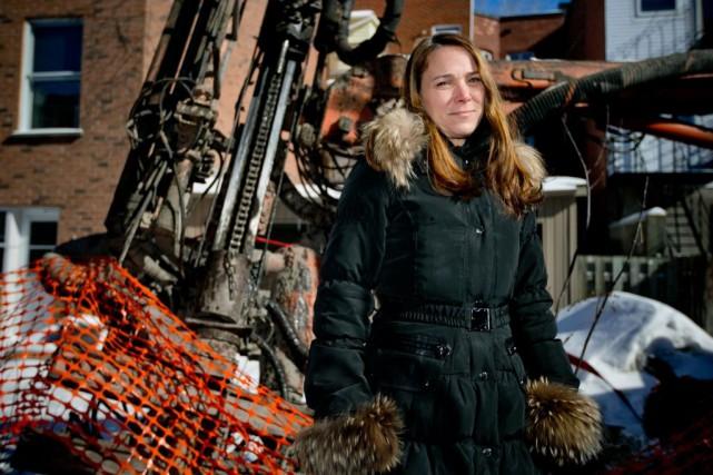 Nathalie H. Tremblay, entrepreneure et chef de la... (Photo David Boily, La Presse)