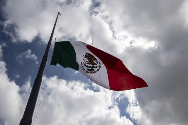 Le drapeau du Mexique.... (Photo PEDROPARDO, AFP)