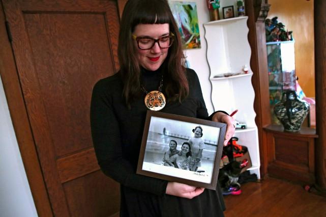 Âgée de 31 ans, Morgan Richardson, a découvert... (Photo Terrence Antonio James, AP)