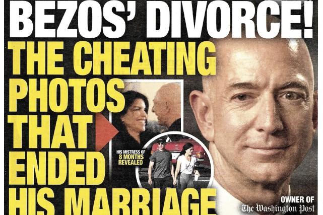 Un avocat du National Enquirer nie un chantage sur Jeff Bezos