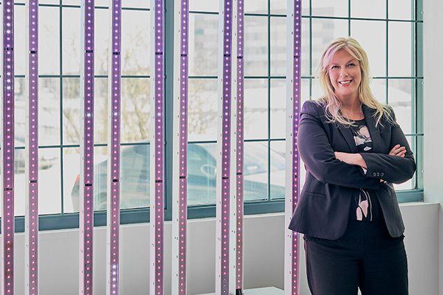 Linda Eytcheson est vice-présidente directrice de SACO Technologies...