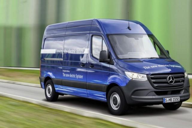 Mercedes-Benz e-Sprinter... (Photo fournie par Daimler AG)