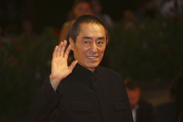 Le réalisateur Zhang Yimou à la Mostra de... (Photo Joel C Ryan, archives AP)