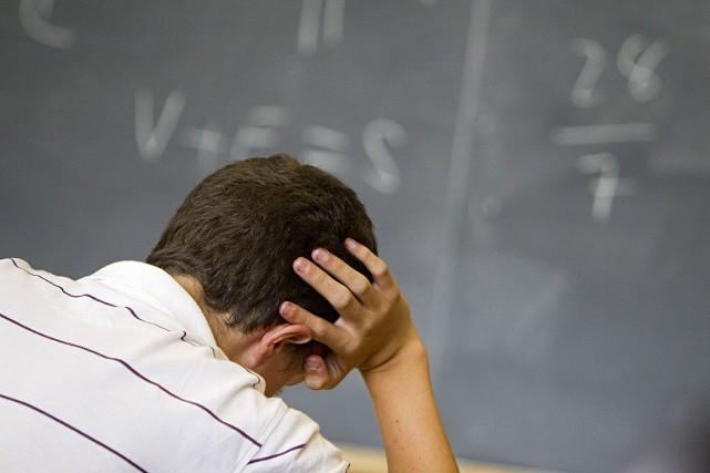 La persévérance scolaire passe non seulement par la motivation et l'encadrement... (Photo Ivanoh Demers, archives La Presse)