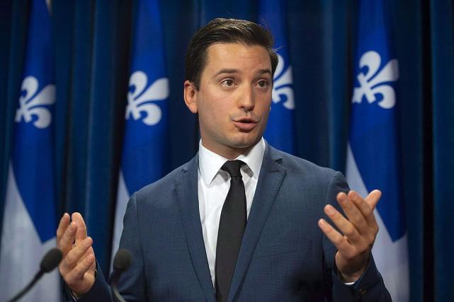 Le ministre de l'Immigration, Simon Jolin-Barrette.... (Photo Jacques Boissinot, archives PC)