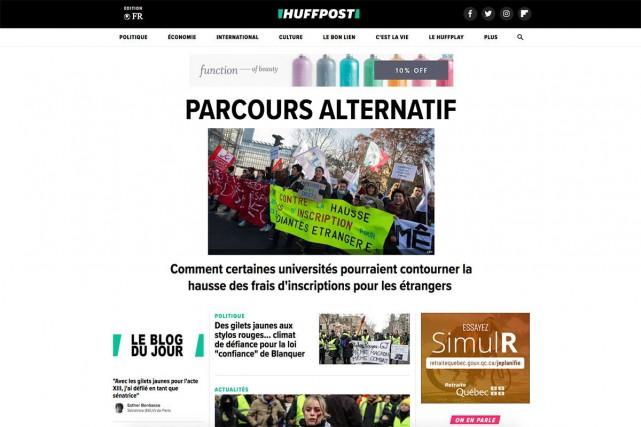 La direction du groupe Le Monde a annoncé... (Capture d'écran)