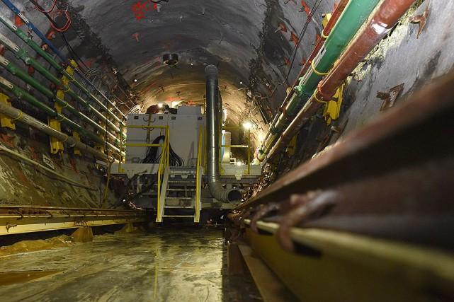 Le bénéfice ajusté du producteur d'uranium s'est établi... (Photo Liam Richards, archives La Presse canadienne)