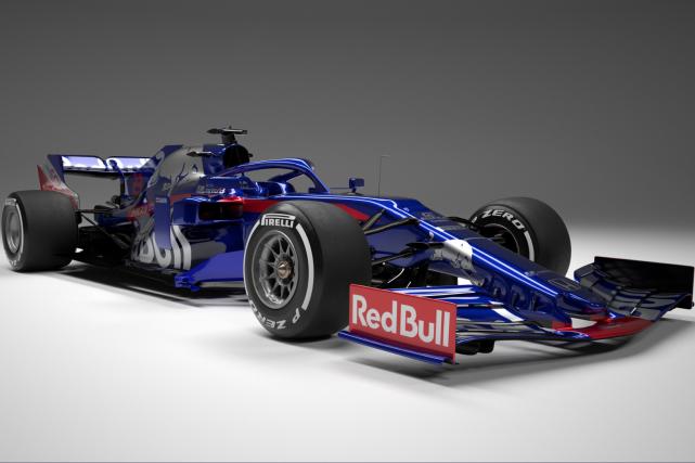 La SRT14 Toro Rosso 2019.... (photos Toro Rosso)