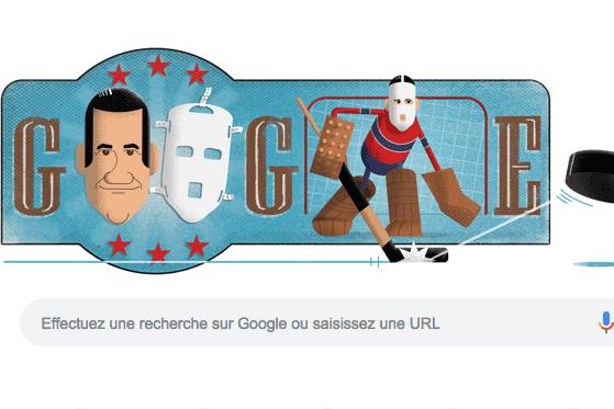 Le doodle quotidien de Google est consacré à... (Image : Google)