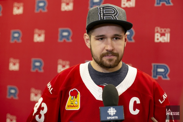 Le nouveau capitaine du Rocket de Laval, Xavier... (Photo David Boily, La Presse)