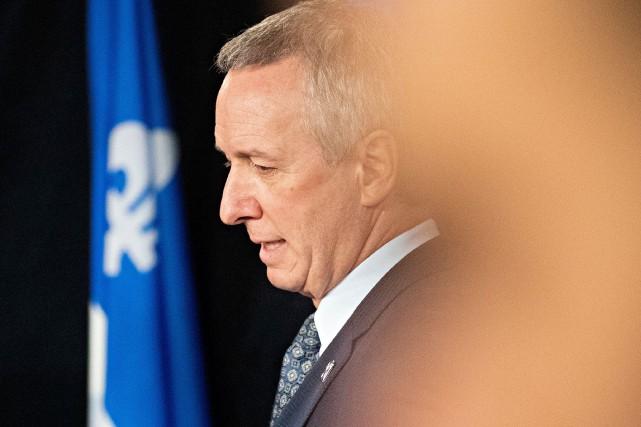 Le ministre de l'Agriculture, André Lamontagne, avait affirmé... (photo  PATRICK SANFACON, archives LA PRESSE)