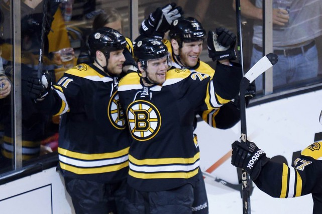 Lorsqu'il dirigeait les Bruins de Boston, Claude Julien... (Photo Brian Snyder, archives Reuters)
