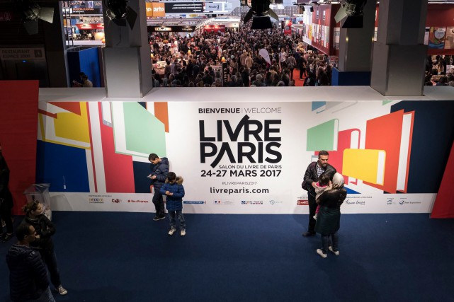 L'édition 2017 de Livre Paris.... (Photo tirée de la page Facebook de Livre Paris)