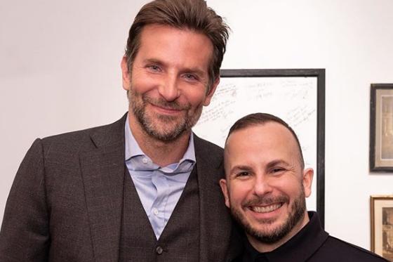 Bradley Cooper etYannick Nézet-Séguin... (Photo tirée du compte Instagram de Yannick Nézet-Séguin)