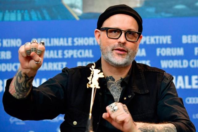 Le réalisateur Denis Côté en conférence de presse,... (Photo Tobias SCHWARZ, Agence France-Presse)