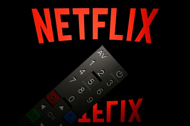 Netflix, le géant américain de la vidéo en ligne sur abonnement (ou SVOD), a... (Photo LIONEL BONAVENTURE, archives AFP)
