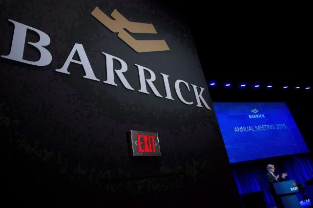 Barrick Gold Corporation Chairman John Thornton speaks during... (Photo Nathan Denette, La Presse canadienne)
