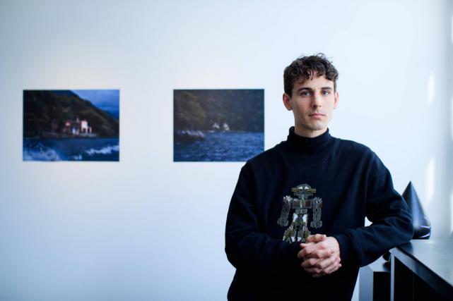 L'artiste en arts visuels Alex Coma, de son... (Photo Edouard Plante-Fréchette, La Presse)