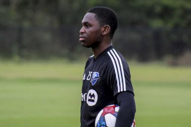 Daniel Kinumbe... (Photo fournie par l'Impact de Montréal)