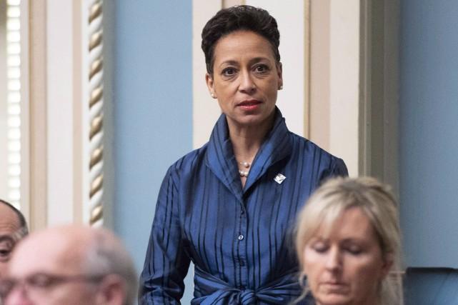 La ministre québécoise des Relations internationales, Nadine Girault... (Photo Jacques Boissinot, archives LA PRESSE CANADIENNE)