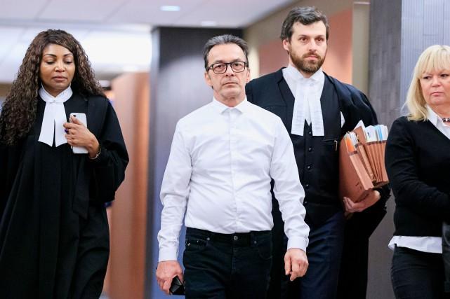Michel Cadotte a admis avoirétouffé son épouse atteinte... (Photo Alain Roberge, archives LA PRESSE)