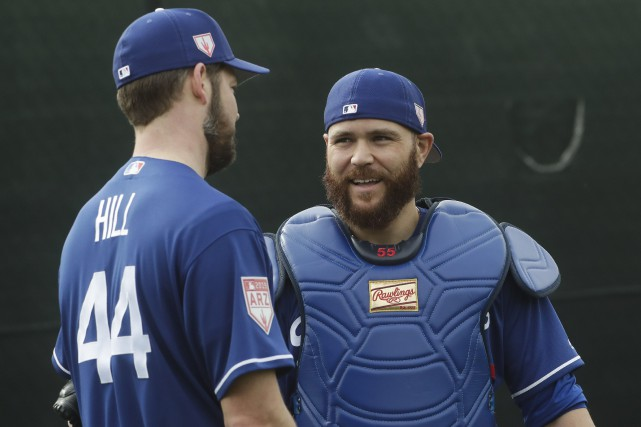 Russell Martin, qui fêtera son 36e anniversaire de... (Photo Morry Gash, Associated Press)