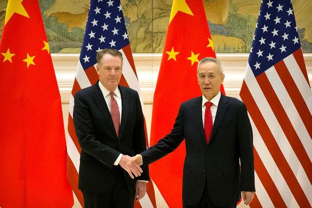 L'envoyé en chef des États-Unis, le représentant au... (PHOTO REUTERS)