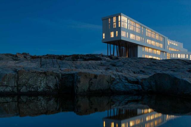 Le Fogo Island Inn n'est certes pas étranger... (PHOTO ARCHIVES LA PRESSE CANADIENNE)