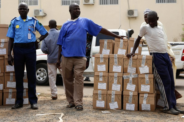 Le Nigeria a repoussé d'une semaine les élections générales (présidentielle et... (Photo NYANCHO NWANRI, REUTERS)