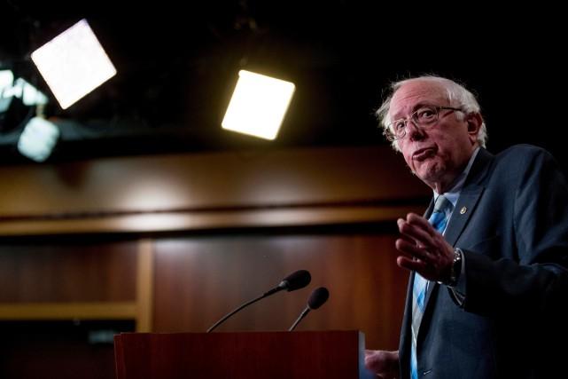 nouvel ordre mondial   Une vidéo de Bernie Sanders annonce sa candidature à la présidentielle