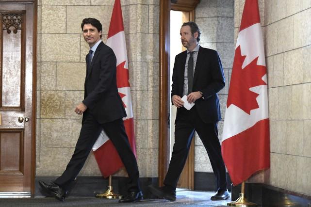 SNC-Lavalin: le conseiller principal de Justin Trudeau démissionne
