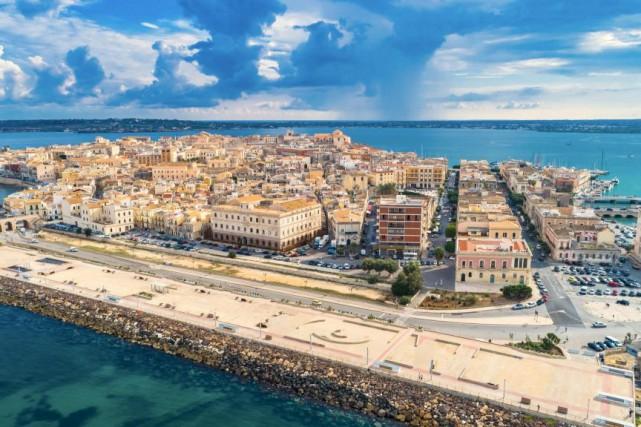 L'île d'Ortigia, à Syracuse, en Sicile... (Photo Getty Images)