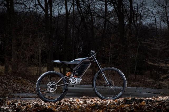 Une bicyclette électrique Harley-Davidson. Un analyste de Wall... (Photo fournie par Harley-Davidson)