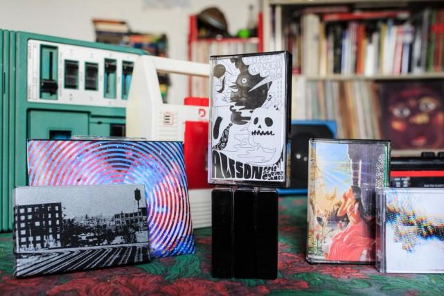 Il est encore possible de trouver des magnétophones,... (Photo Edouard Plante-Fréchette, La Presse)