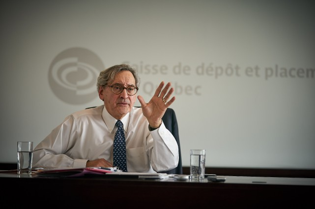Le rendement obtenu par l'équipe du grand patron... (Photo André Pichette, La Presse)