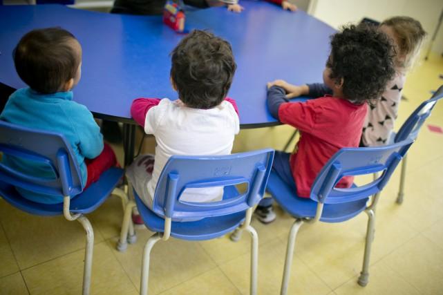 Les chiffres indiquent que les enfants qui ont... (PHOTO DAVID BOILY, ARCHIVES LA PRESSE)