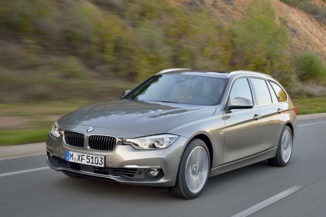 Une BMW Série 3 Touring... (PHOTO FOURNIE PAR BMW)