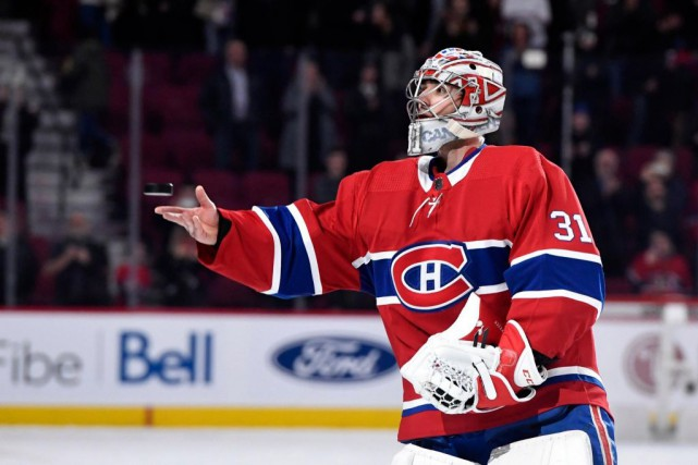 Carey Price... (PHOTO ERIC BOLTE, ARCHIVES USA TODAY SPORTS)