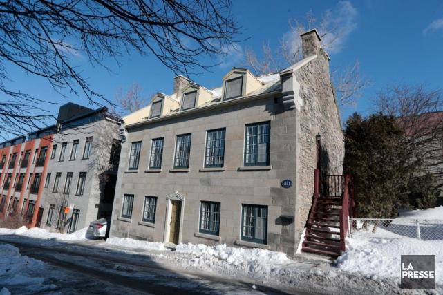 Entièrement restaurée, la résidence Marguerite-Hay est l'une des... (PHOTO MARTIN CHAMBERLAND, LA PRESSE)