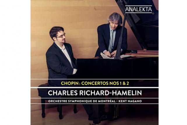 Chopin : Concertos nos 1et2, de Charles Richard-Hamelin... (PHOTO ANALEKTA)