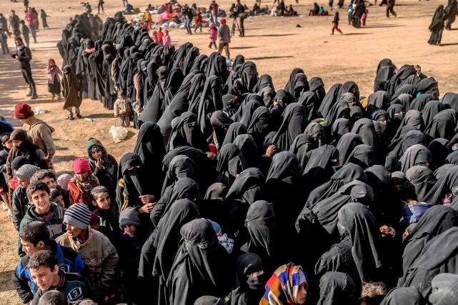 Dans la discrétion, un organisme de l'ONU poursuit depuis avril2018 un travail... (PHOTO BULENT KILIC, AFP)