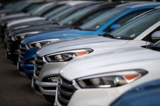 Durant l'année 2018, un automobiliste canadien sur trois... (PHOTO DAVID ZALUBOWSKI, ARCHIVES ASSOCIATED PRESS)